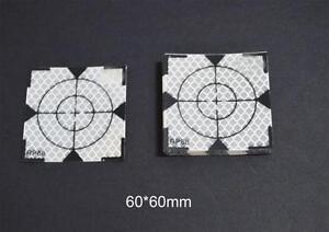 200pcs  super power   REFLECTOR SHEET 60 x 60 mm Reflective Tape Target