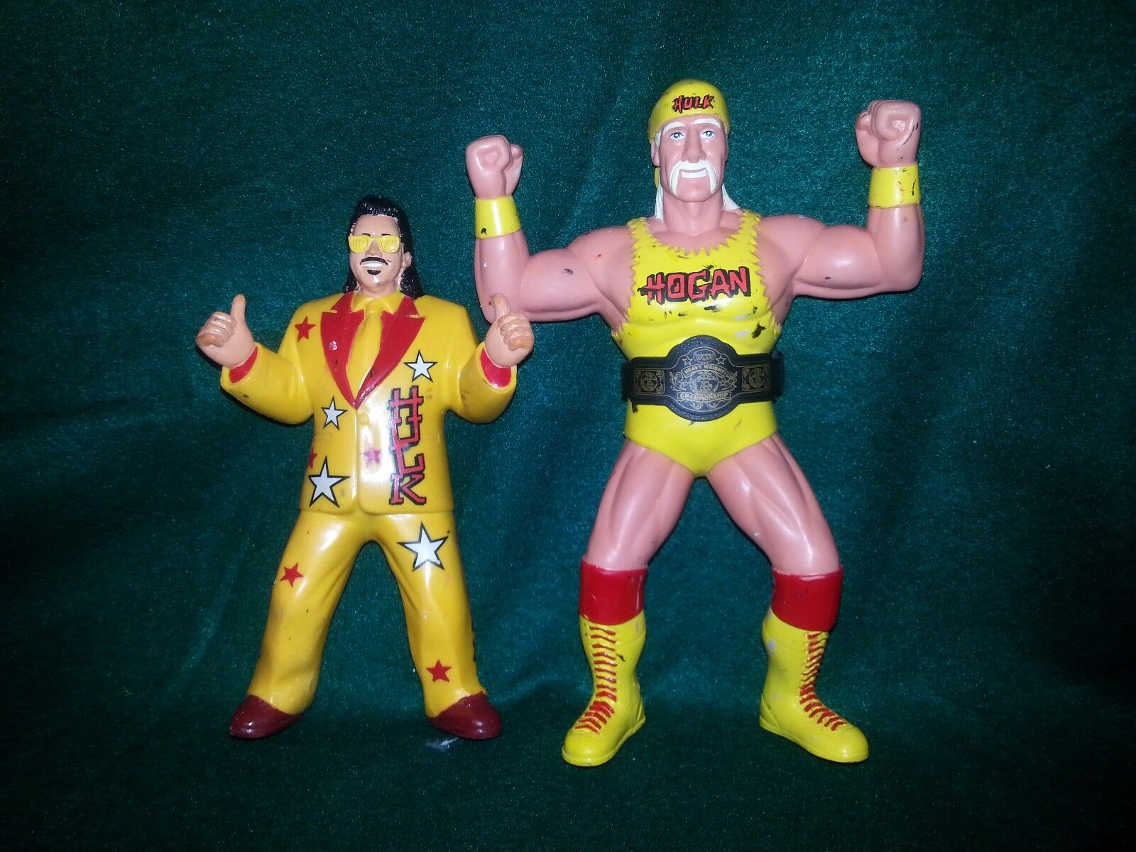 WCW Toymakers Complete Series 1 Figures Sting, Hogan, Flair 11 Total Figures