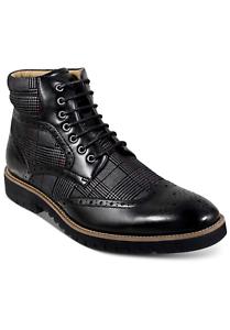 Stacy Adams Barker Wingtip-Toe Boots