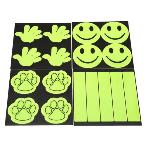 Outdoor Safe Reflective Stickers Children Safety Decal For Bikes Bicycles one