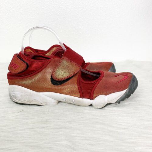 Nike Women's 11 Golden Red Air Rift Marathon Runni