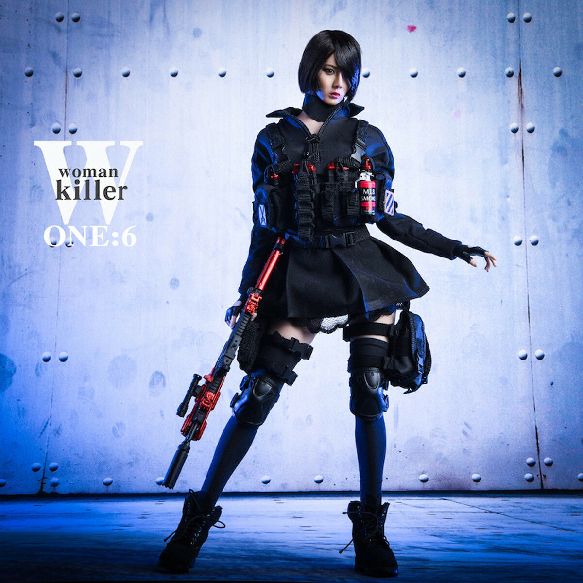 VSTOYS 1 6th 18XG27 18XG27 18XG27 Female Assassin Women Killer Combat Clothing Set Model Toys 83bc5d