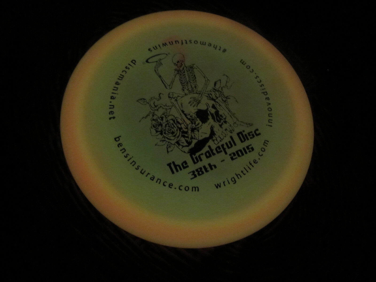 Innova Champion Rosa Glow Thunderbird Thunderbird Thunderbird The Grateful DISC 38th 2015 stamp GOLF 175 7c28e5