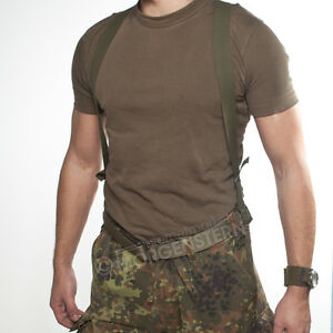 Black Coyote-Braun New US Army Braces with Hook Olive