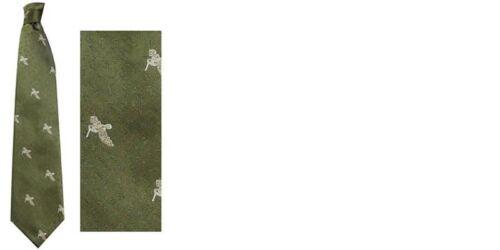 Bisley Sporting SHOOTING CACCIA Tie Stag Gallo Cedrone FAGIANO ANATRA Woodcock