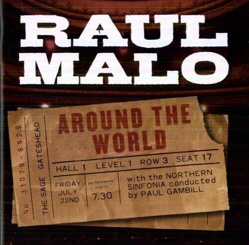 1 of 1 - Raul Malo - Around the World Live [New CD]