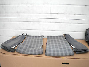 Image Is Loading VW MK2 Scirocco 16v Plaid Tweed Houndstooth Lower