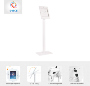 Steel-Anti-Theft-Tablet-Holder-Stand-Standing-Kiosk-For-Ipad-Pro-12-9-034-Inches-UK