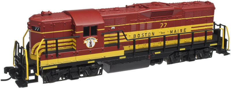 ATLAS 40002179 N GP9 B&M 77 (Guilford  B&M Heritage ) = Brand New C-10 Mint
