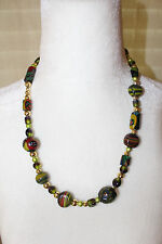 Women's Multi-Color Beaded Statement Necklace MUST SEE!!