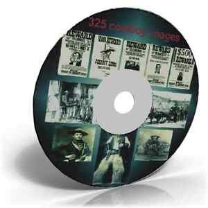 325-old-west-and-cowboy-images-on-an-Art-Craft-CD