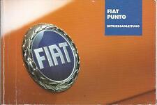 FIAT PUNTO 2 Betriebsanleitung 2002 Bedienungsanleitung Handbuch Bordbuch BA