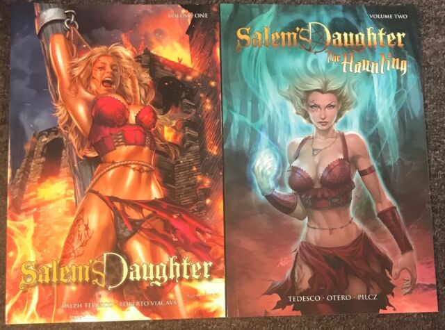 Salem's Daughter the Haunting Vol 1 and 2 Tedesco Greg Horn New Zenescope Tp Tpb