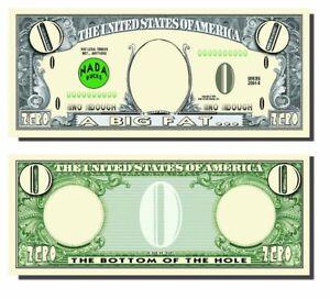 Big-Fat-Zero-Novelty-Bank-Note-Prank-Humour-Funny-Dollar-Bill-Totally-Bizzarre