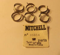 6 Old Stock Garcia Mitchell 300 300c 400 Fishing Reel Bail Springs 81014