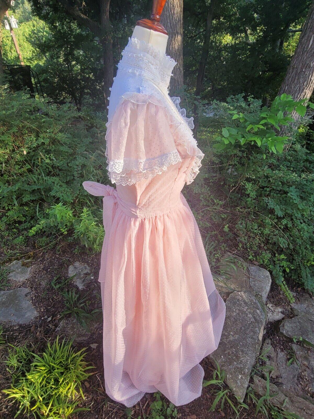 Vintage Gunne Sax Dress 9 princess Gunne Sax Swis… - image 7