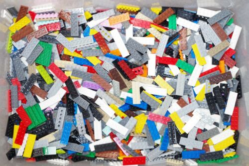 READ Authentic LEGO Lot of 100 Random 2x6 Plates Flat from Huge Inventory STEM
