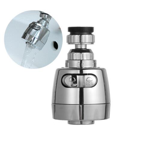 360 Rotatable Aerator Saving Water Bubbler Swivel Tap Faucet Diffuser Filter
