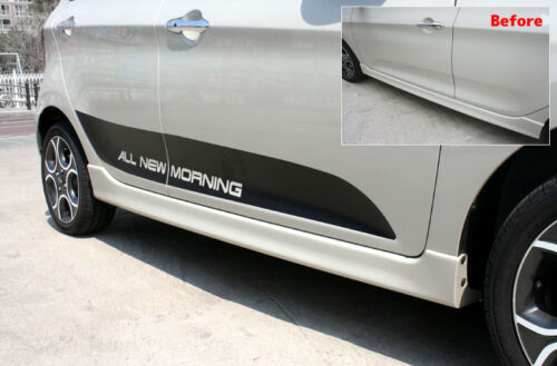 Picanto Black Door Side Guard Point Decals Stickers for Kia 2012 2013 2014