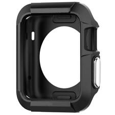 for Apple Watch Case Cover Protector 42mm iWatch Black Protective Bumper Rugged