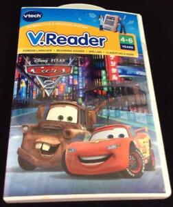 VTech-Cars-CD-VReader-CD-NWT-Foreign-Language-Sounds-Spelling-4-6-years-Mator