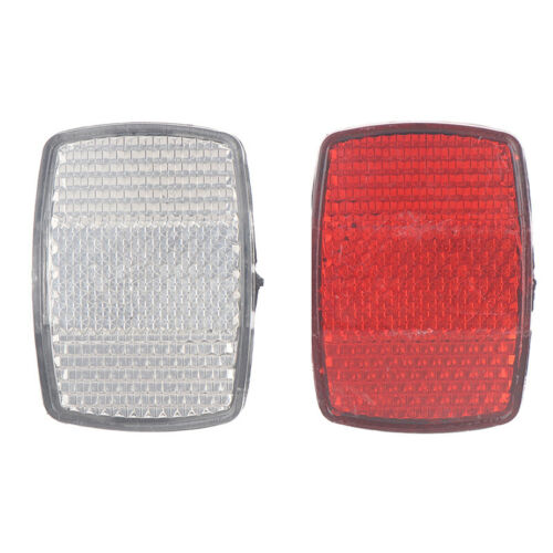 Bicycle Plastic Reflector Tail Light Reflector Front And Rear Warning Tail LiYYY
