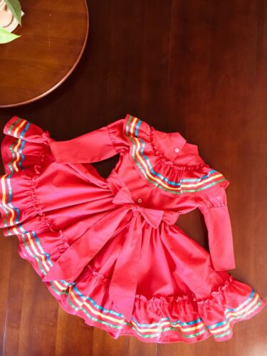 Larger Size Is Extra folklorico dress Sizes 0 Months To 5T