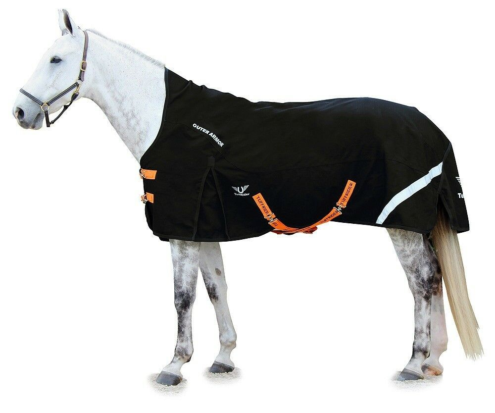 Tuffrider 1200D Outer  Armor Turnout Sheet with Reflective Hip Stripe  for sale