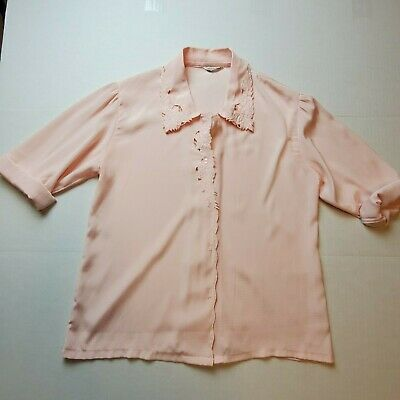 Long Sleeved Vintage Button Down Blouse