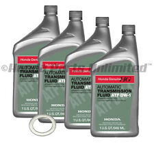 4 Qt Genuine Honda DW-1 ATF-Z1 ATF W/ Crush Washer 08200-9008 90471-PX4-000