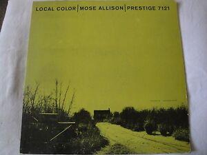 MOSE-ALLISON-LOCAL-COLOR-VINYL-LP-1958-PRESTIGE-PRLP-7121-MONO-CARNIVAL-TOWN