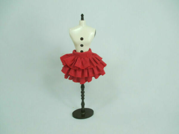 Handmade clothing Layers Skirt for 1:6 scale doll Barbie Blythe #  B-70