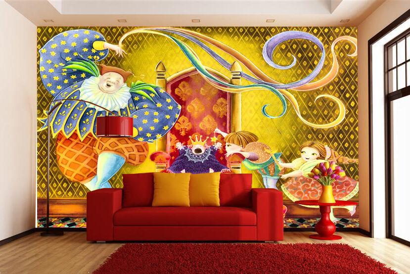 3D King Cartoon 17599 Paper Wall Print Decal Wall Wall Murals AJ WALLPAPER GB