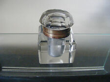 ANTIQUE / VINTAGE GLASS INKWELL