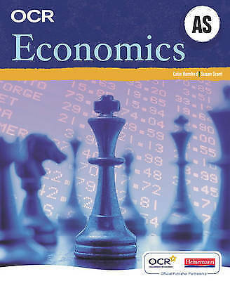 1 of 1 - OCR AS Economics Student Book, Colin Bamford & Susan Grant, Used; Good Book