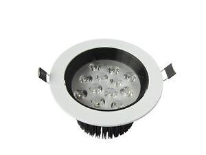 10pcs-12W-Led-Spot-Encastrable-Blanc-et-Noir-Nouveautes-Lampe-Plafonnier