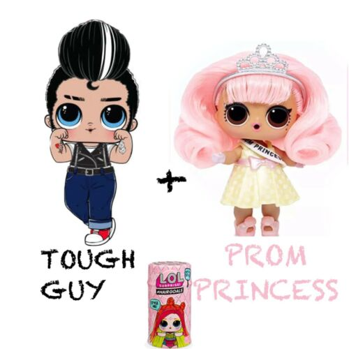 LOL Surprise #Hairgoals Wave 2 Prom Princess+Tough Guy