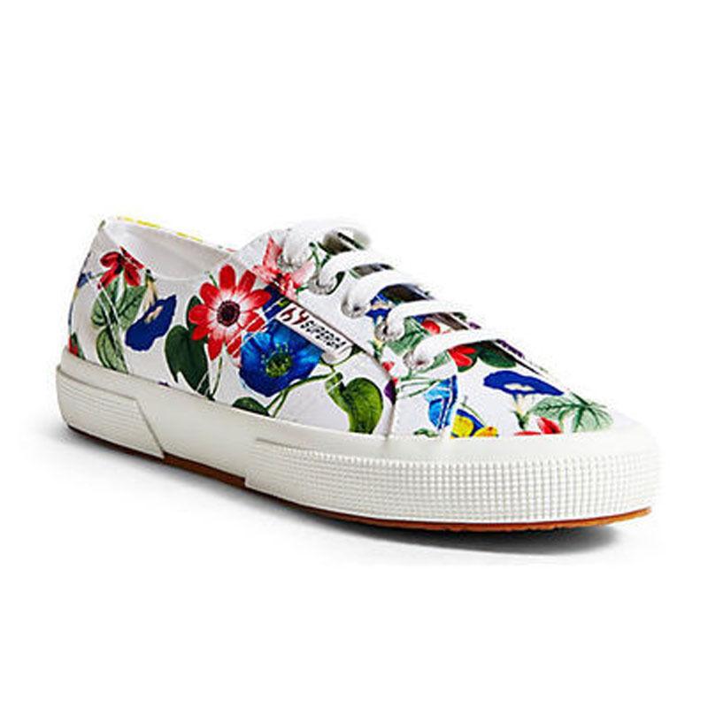 NWB SUPERGA 2750 Fanrasow donna scarpe US6.5