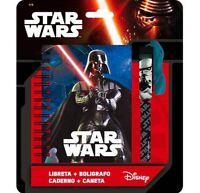 Carnet Et Stylo Star Wars 13 X 10 Cm Disney