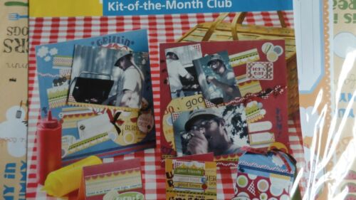 Paperworks Kit Of The Month Club Scrapbook Pages Picnic Basket 157 Pieces PW052