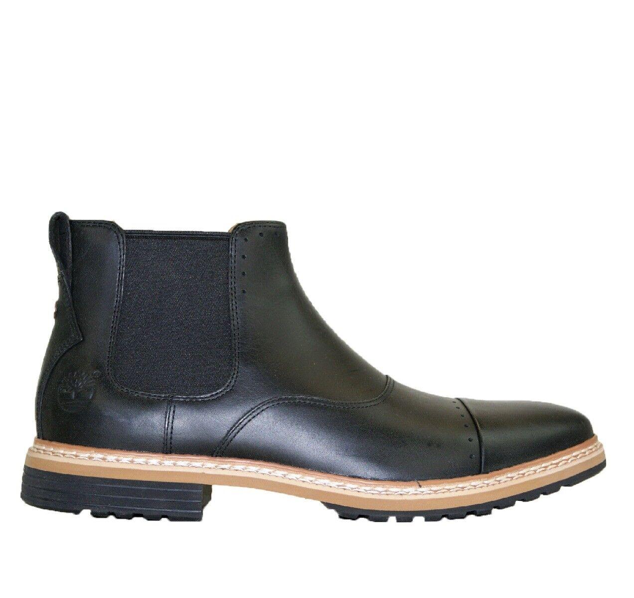 Timberland Cap Toe Chelsea nwp avvio Nero scarpe-AUTHENTIC A12WQ RRP  - | Attraente e durevole  | Scolaro/Signora Scarpa