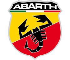 autocollant sticker ABARTH autobianchi ritmo 124 131 600 850 500 stilo scorpion