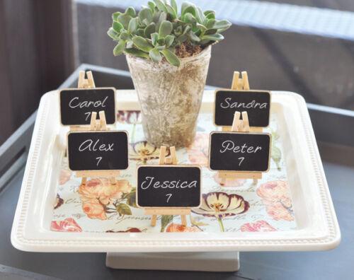 180 Chalkboard Easel Wedding Place Cards Bridal Shower Wedding Favors