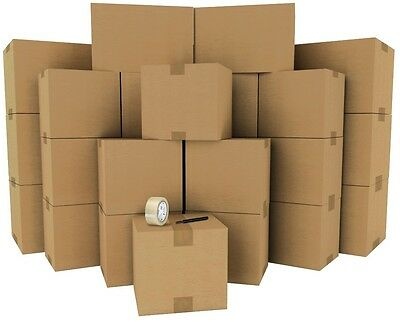 Moving Boxes - Value Pack - Qty: 30 Boxes + Supplies - Free Two-Day Shipping
