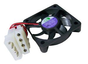 Standard CPU Ball Bearing Cooler Fan 50mm x 10mm Molex Connector 12VDC 5400