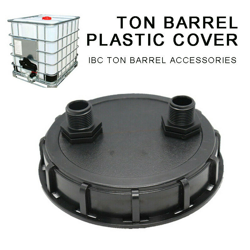 IBC Container Lid DN150 W/ 2 x 1