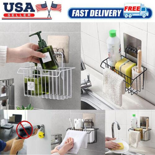 Shower Bath Caddy Shelf Bathroom Kitchen Corner Rack Storage Holder Organizer