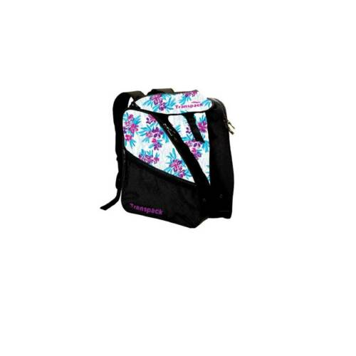 Purple and Pink Hibiscus One Size Transpack XTW Print Boot Bag Womens