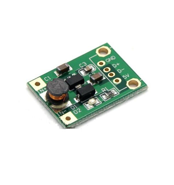 5pcs DC-DC Converter Step Up Module 1-5V to 5V 500mA Power Module CA NEW