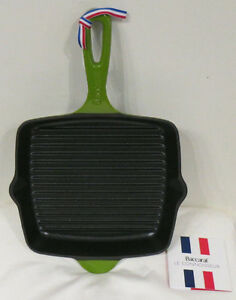 New-Baccarat-Le-Connoisseur-Grill-Pan-Green-26cm-RRP-119-99-Induction-safe
